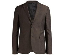 Leinen-Blazer 'Hopper Dressed' braun