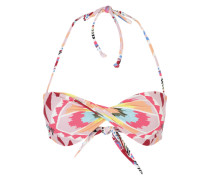 Bandeau-Bikini Oberteil 'Tribe Time Tropic' mischfarben
