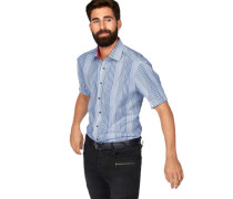 Businesshemd himmelblau / weiß
