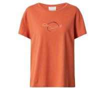 Shirt 'nelaa' mischfarben / orange
