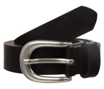 Ledergürtel 'PCLakota' schwarz