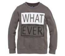 """Sweatshirt """"what Ever"""" für Jungen brokat / weiß"""