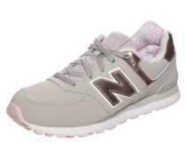 'kl574-F1G-M' Sneaker bronze / grau / rosa