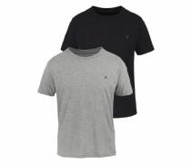 T-Shirt mit Crew Neck (2 Stück)