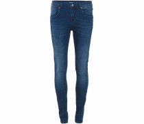 Skinny-fit-Jeans 'Patrizia' blue denim