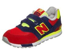 Sneaker 'kv574-Wiy-M' dunkelblau / gelb / rot