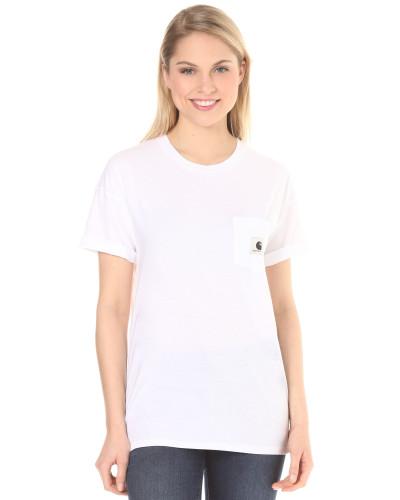 Carrie Pocket T-Shirt naturweiß