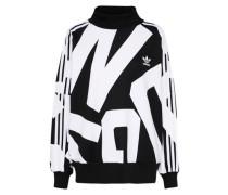Sweatshirt 'BA Crew' schwarz / weiß