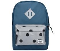 Heritage Kids Backpack Rucksack 33 cm marine / grau
