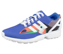 Sneaker 'ZX Flux' blau / orange