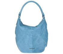 Beuteltasche Pattern hellblau