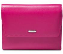Bingo Geldbörse Leder 13 cm pink