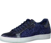 Sneaker Glitzer blau navy