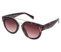 Sonnenbrille braun / kastanienbraun