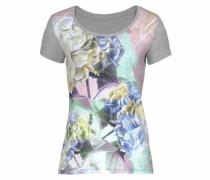 T-Shirt graumeliert / mischfarben