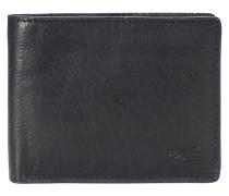 Alaska Geldbörse Leder 12 cm schwarz