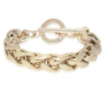 Big spiga bracelet gold