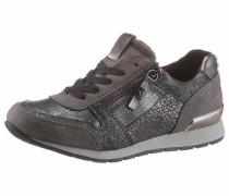 Sneaker rauchgrau / silber