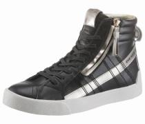 Sneaker 'D-Strings Plus W' dunkelbraun / gold