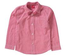 Kinder Langarmhemd Passform REG rot