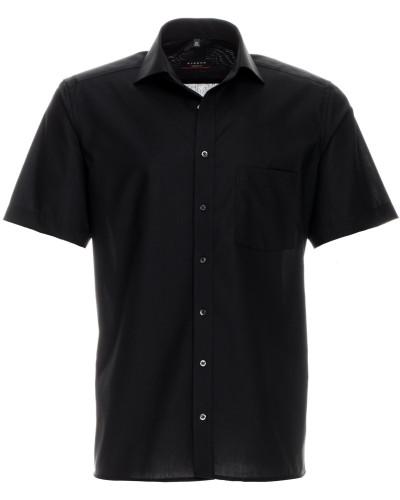 Kurzarm Hemd Modern FIT schwarz