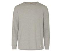 Sweatshirt 'Ls Pique' grau