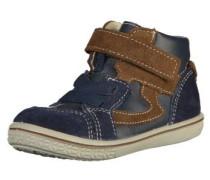 Sneaker beige / marine / braun