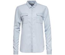 Bluse 'anna Shirt LS W3' hellblau