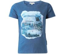 T-shirt 'Easley' himmelblau