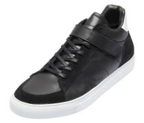 High Top-Sneaker schwarz