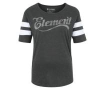 T-Shirt 'Athletic Dept' mit weichem Griff dunkelgrau / weiß