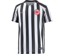 Fußballtrikot Eintracht Frankfurt 16/17 Heim schwarz / weiß