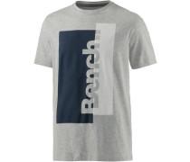 T-Shirt Herren navy / graumeliert