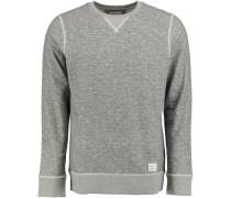 Sweatshirt 'plated' grau