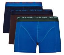 Basic Boxershorts blau / rot