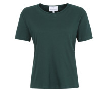 T-Shirt 'Vibeke' dunkelgrün