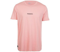 Originators Mini Script T-Shirt Herren pink