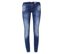 'Pitch' Slim Fit Jeans blau