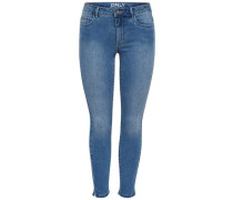 Skinny Fit Jeans 'Denim power reg ankle' blue denim