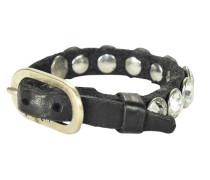 Bracciali Armband Leder 25 cm schwarz