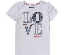 Baby T-Shirt für Mädchen weiß