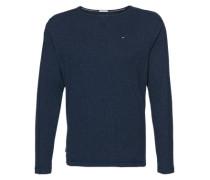 Langarmshirt im Inside-Out-Design blau