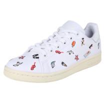 Sneaker mit Stickerei 'Stan Smith W' mischfarben / weiß