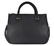 Shopping M Quadrata Handtasche 35 cm schwarz