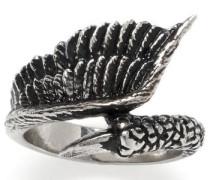 Fingerring »Flügel und Kralle 1099« silber