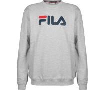 Sweatshirt rot / weiß / graumeliert