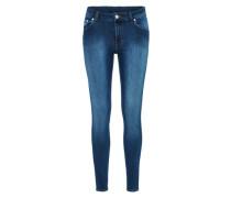 'Mid Skin' Skinny Jeans blau