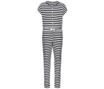 Jumpsuit schwarz / weiß