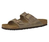Sandale 'Arizona' Schmal mokka