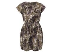 Kleid mit Camouflage-Muster 'Sofie' grün / mischfarben
